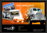 Graphic Designing for Armor Solutions